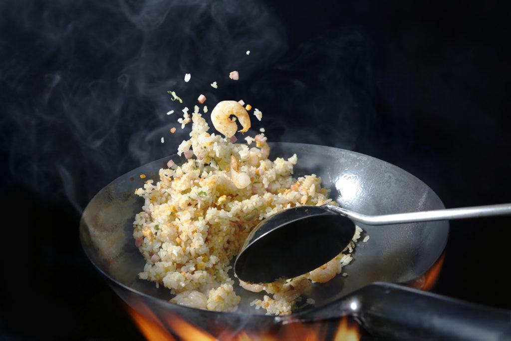 Le Riz - Cuisson Frit