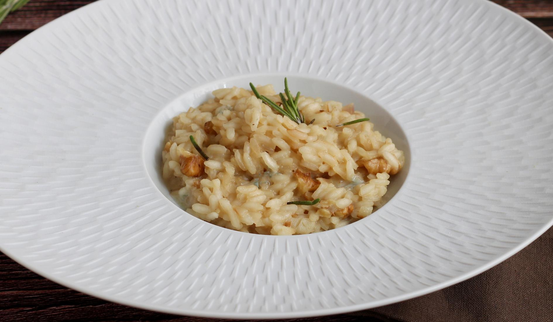 riz Recette Risotto Gorgonzola Noix
