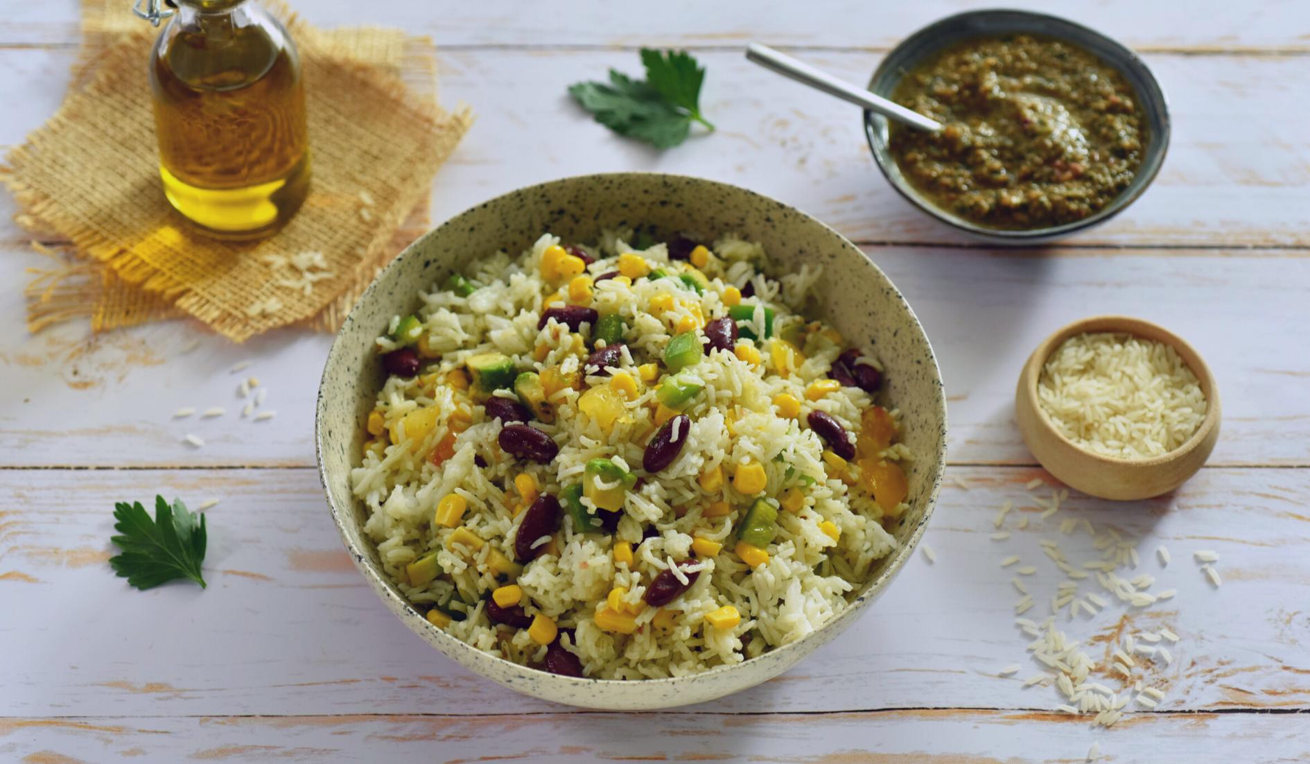 Salade De Riz à La Mexicaine Couv